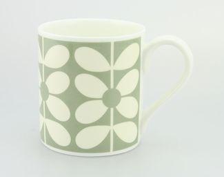 Orla Kiely Mug Sixties Stem Blue £8.95 - Mugs - Orla Kiely Mugs ILLUSTRATED LIVING