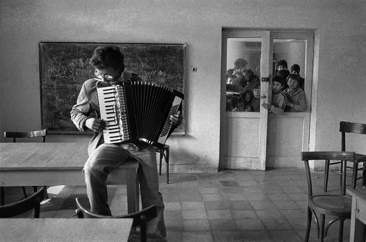 Nikos Economopoulos ALBANIA. Tirana. School for handicapped children. 1992.