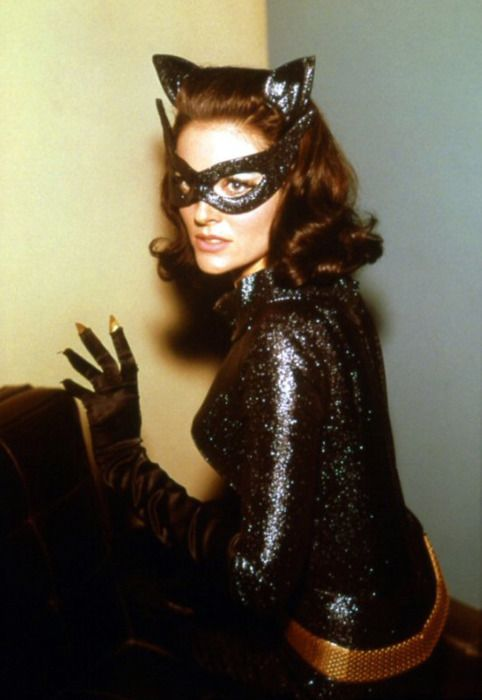 Lee Meriwether as Catwoman in the Batman film (1966) from vintagegal on tumblr