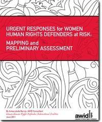 """Directorio Virtual para defensoras basado en un mapeo inicial, """"Respuestas Urgentes para las Mujeres Defensoras de los Derechos Humanos"""", producido por la Asociación para los Derechos de las Mujeres y el Desarrollo (AWID) en colaboración con la Coalición Internacional de Defensoras de los Derechos Humanos de las Mujeres (Coalición Internacional) en 2011"""