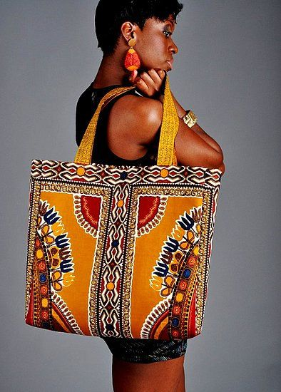 Togo - Gorgeous costumisable dashiki african bag