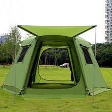 368*368*190cm 5-8 Person Large Camping Tents Waterproof  Double Layer Hiking Fishing Tent Party Family Tent //Price: $US $290.74 & Up to 18% Cashback on Orders. //     #jewelry