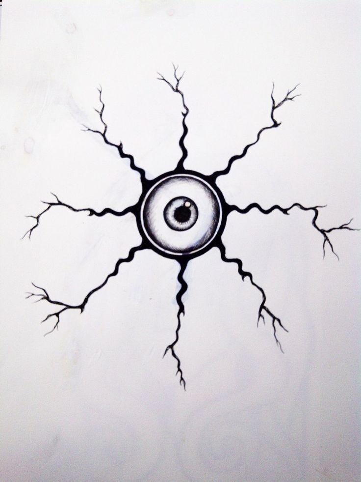 Electric Eyeball tattoo by Kisses-of-night.deviantart.com on @deviantART