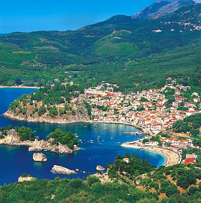 Parga, Greece one of the most beautiful parts of Greece I have seen.