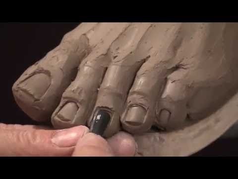 "Cinthia Joyce Sculpting ""The Muse"" in clay - YouTube"