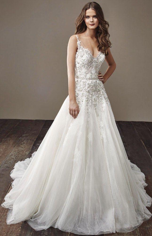 Courtesy Of Badgley Mischka Wedding Dresses Www Badgleymischka Dress Idea