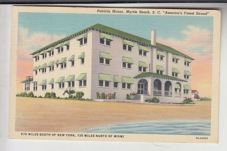 Patricia Manor No Bathers Myrtle Beach SC   | eBay