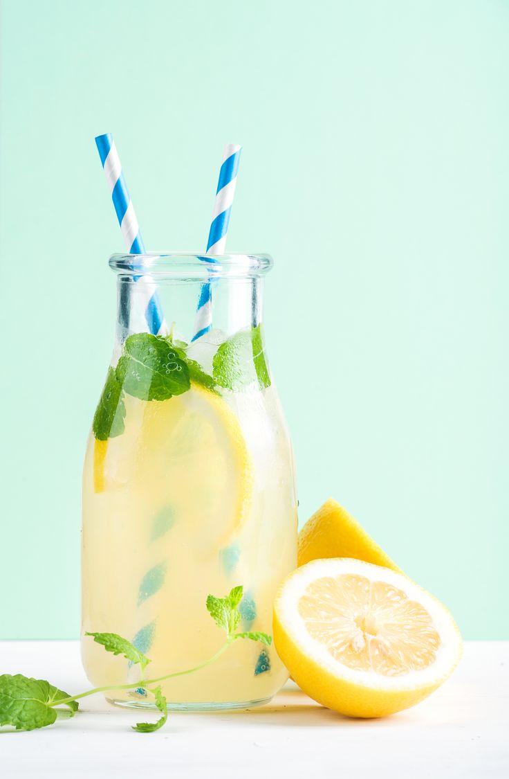 Limonade selber machen: 4 Trend-Rezepte mit Zitrone, Erdbeer oder Ingwer