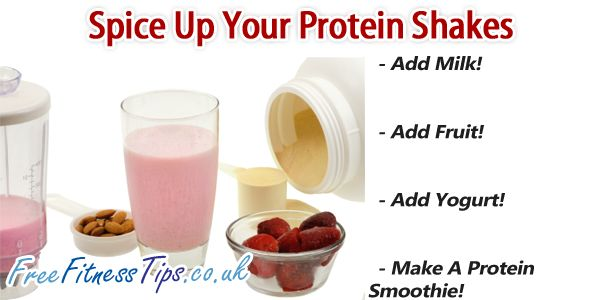 Getting bored with your protein shake? Here are three quick and easy ways to spice them up.