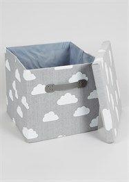 Bedroom Cloud Foldable Fabric Storage Box (33cm x 33cm x 31cm)