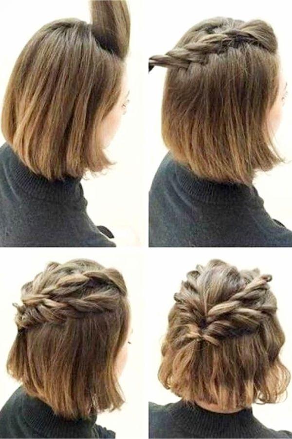 Easy Hairstyles Ideas For Short Hair Step By Step Video Tutorials Lifehacks Frisuren Kurze Haare Flechten Frisur Ideen Frisuren Kurz