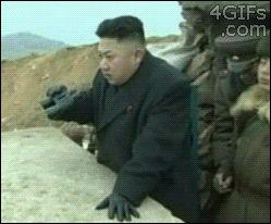 North Korean missile test.