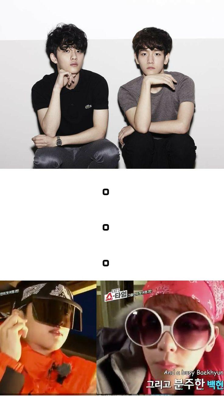 baek's and d.o.'s way to progress, this is why I love EXO