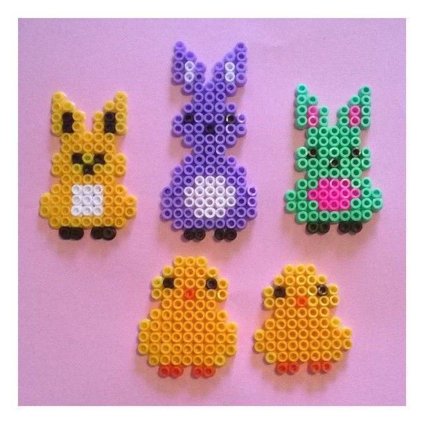 Easter perler beads by ninnilisa
