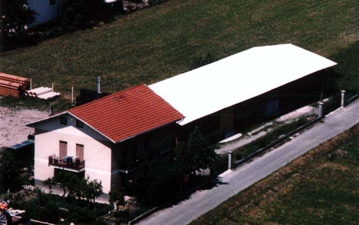Veduta aerea del laboratorio