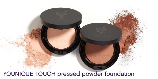 Younique's new YOUNIQUE TOUCH pressed powder foundation has buildable coverage and effortless portability with a smoother application than ever before. Get a rich color payoff and an impeccable, shine-free finish with just a quick swipe of this velvety soft powder. The new powder provides a true color match with TOUCH MINERAL liquid foundation. Available March 1.