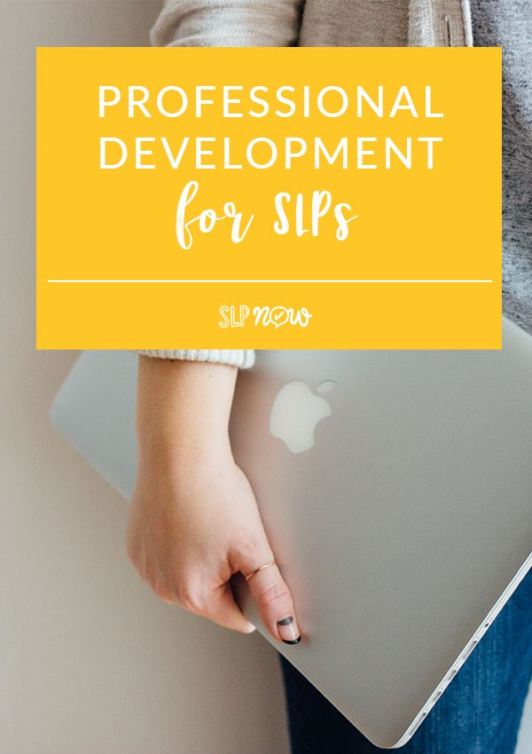 Looking for some professional development for SLPs? These are my 3 favorite options for SLPs on a budget!