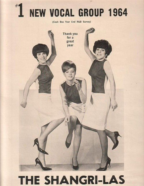 The Shangri-Las are crowned the no.1 vocal group of 1964