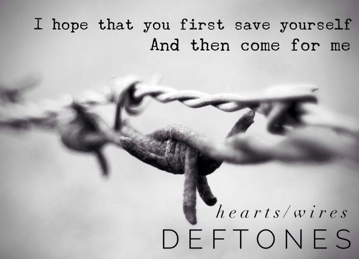 My favorite from Gore. #deftones #heartswires #gore