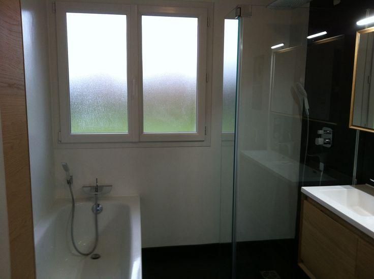 479 best images about salle de bains italienne on pinterest plan de travail taupe and cuisine for Peinture hydrofuge douche