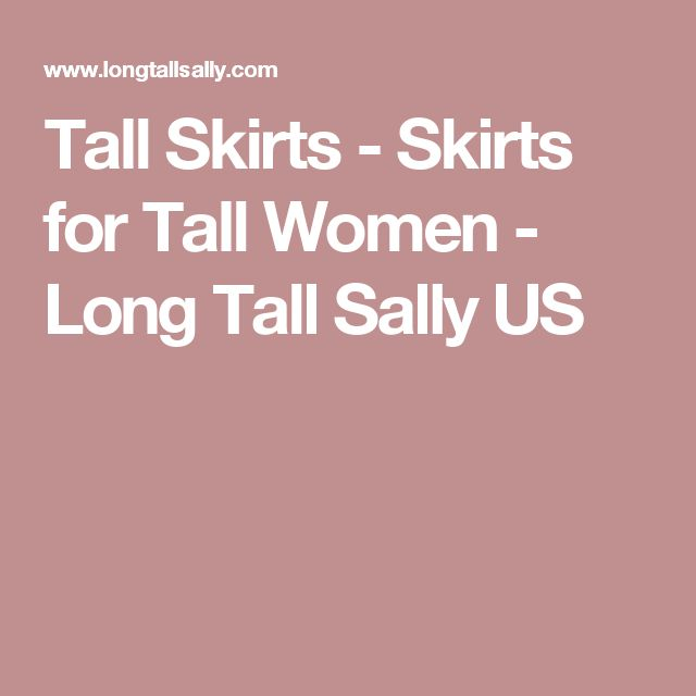 Tall Skirts - Skirts for Tall Women - Long Tall Sally US