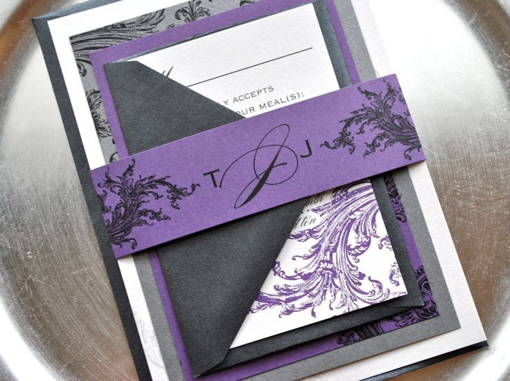Purple And Silver Wedding Centerpieces | purple and silver wedding invitations | Reference For Wedding ...