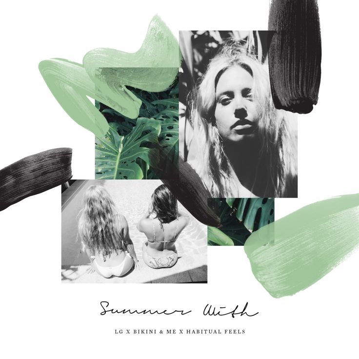 SUMMER WITH BIKINI & ME X LAURA GOODALL X HABITUAL FEELS Collage 1 of 6