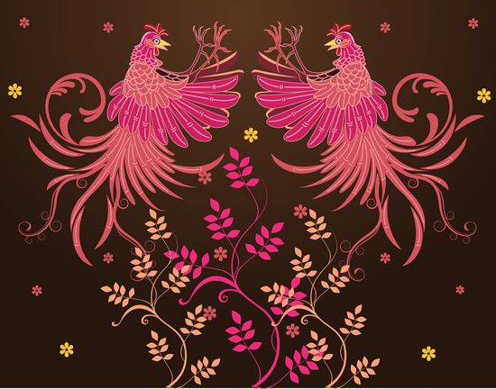 Rooster Fighting Art Print