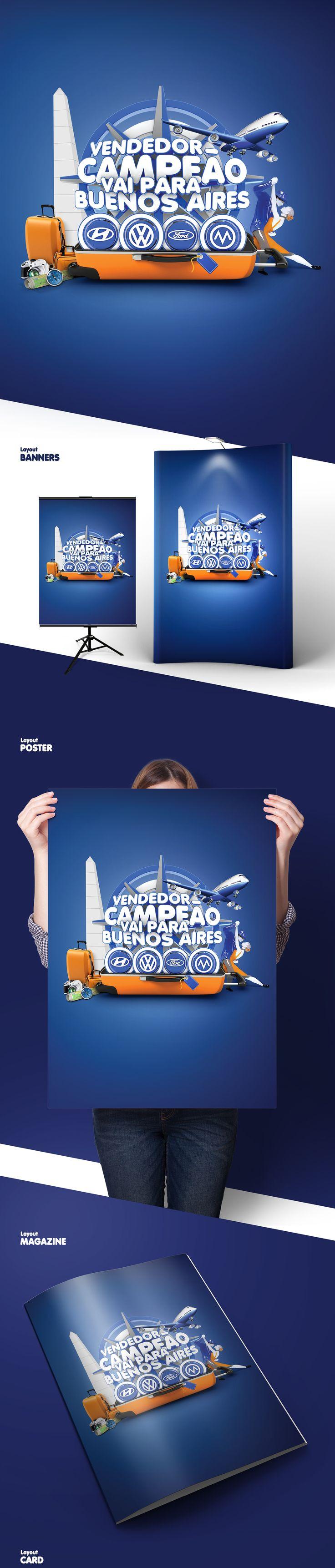 Grupo Novo Norte - Campanha Vendedor Campeão on Behance