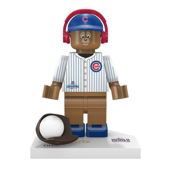 Clark the Bear Chicago Cubs OYO Sports 2016 World Series Champions Mascot Figurine