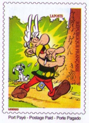 Asterix Stamp
