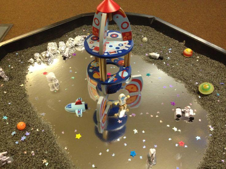 Space small world/sensory tray