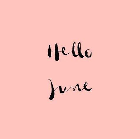 Y sin darnos cuenta... #AndaYaEsJunio Ahora toca disfrutar al máximo, empiezan los días largos ;) #BienvenidoJunio