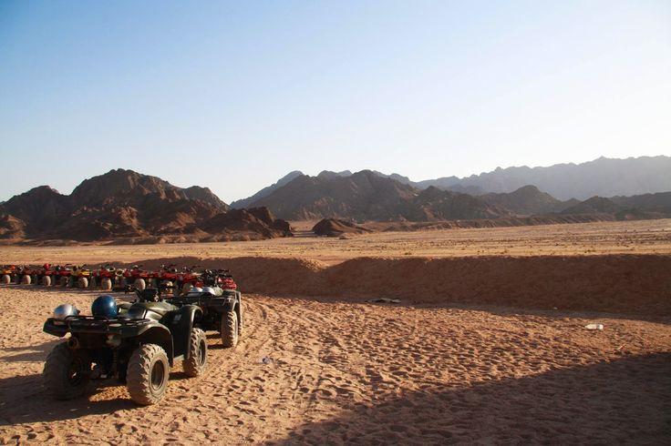 Quad Biking through the Sinai Desert {Egypt Part 2}
