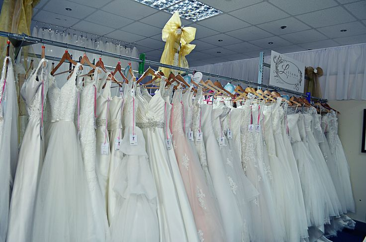 we have an amazing selection of bridal gowns in store