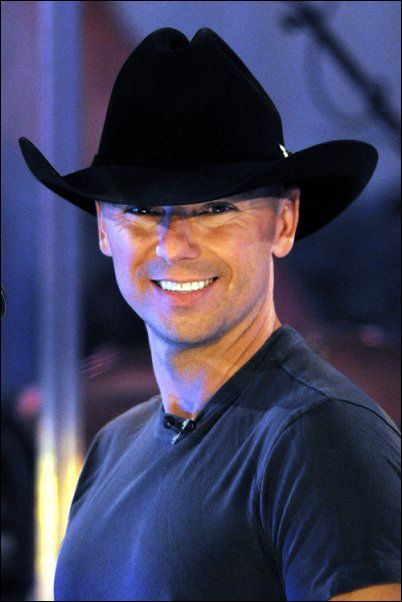 Kenny Chesney he may be 45, but I still love him :)