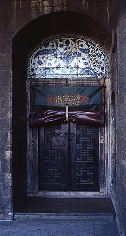 Porta laterale Moschea di Suliman. Istanbul