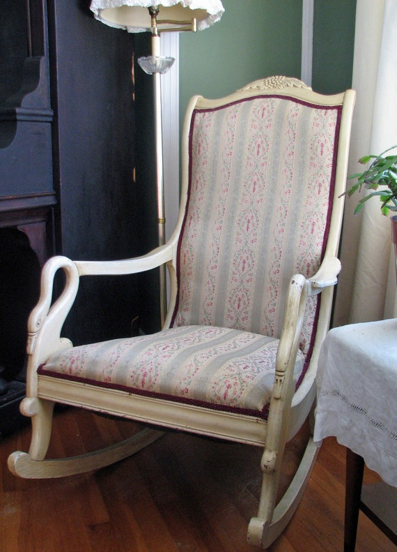 48 best images about Upholstered rocking chairs on ...