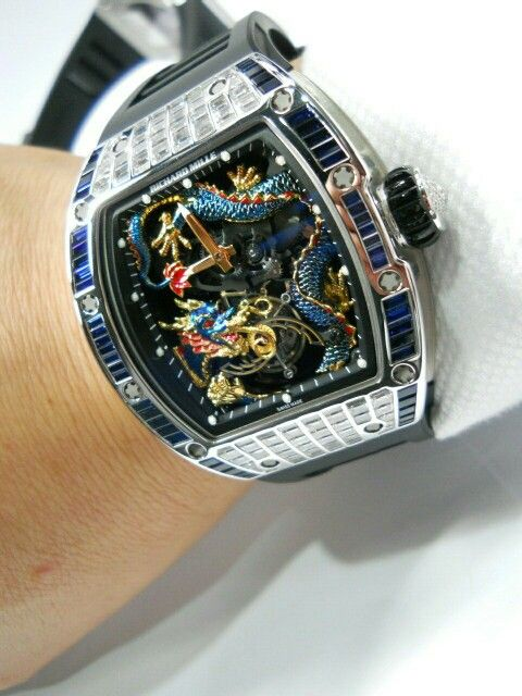Exquisite with complication @Richard Mille,  aBBraCCio di boteglioni