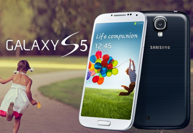 Samsung Galaxy S5 Released - The Home Button Integrated Fingerprint Recognition