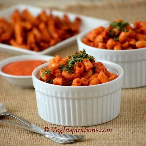 Pasta with Roasted Red Bell Pepper Sauce | .:: Best Italian Recipes ...