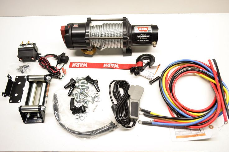 New Warn Provantage 4500lb UTV ATV Winch Kit    eBay Motors, Parts & Accessories, ATV Parts   eBay!
