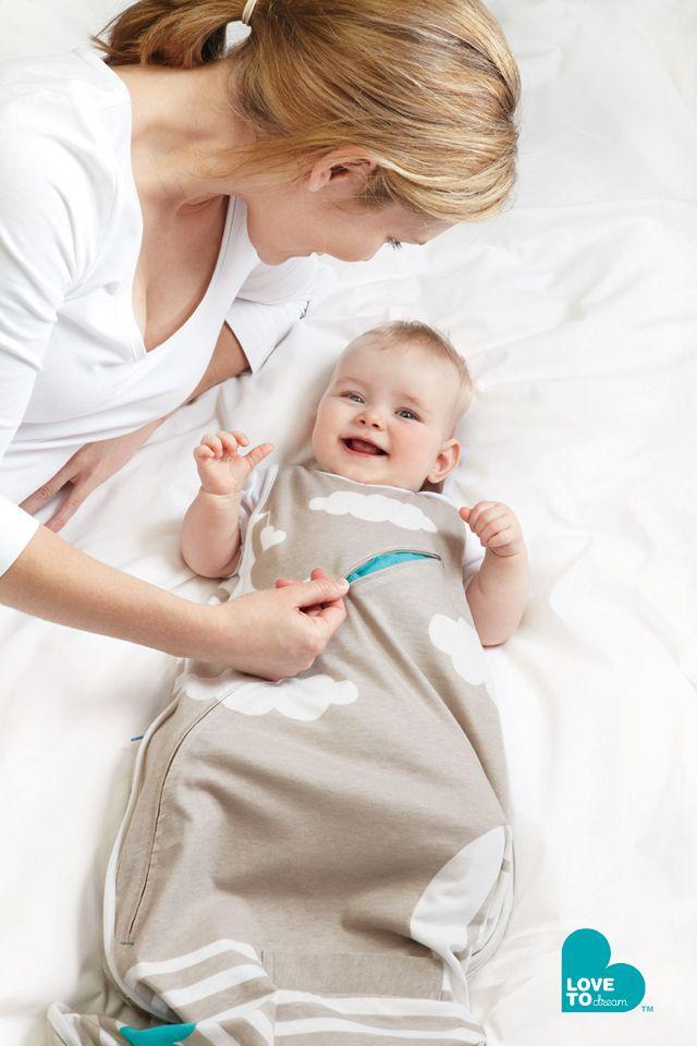 Love To INVENTA Sleep Bag 4-12 months Taupe. #sleepbag #lovetodream #INVENTA
