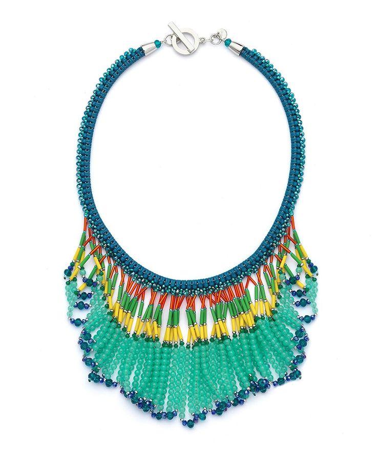 Nali Shop. Multicolour Fringe Necklace