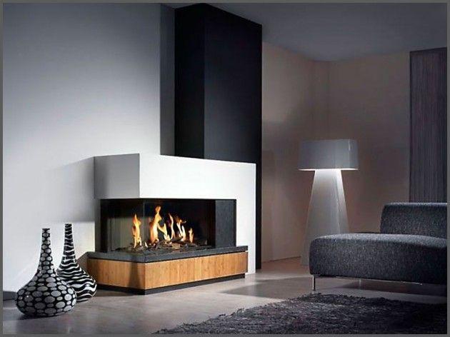 22 Ultra Modern Corner Fireplace Design Ideas Modern