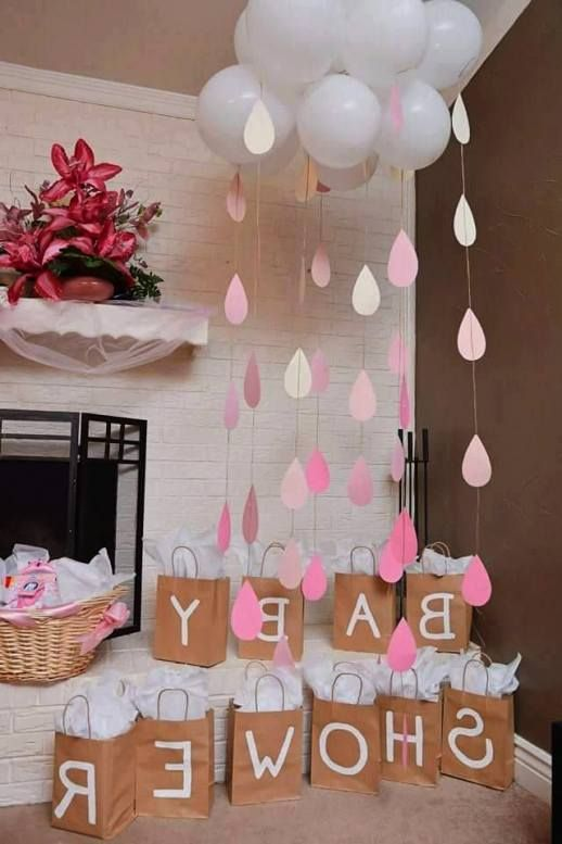 ebf15963c Baby Shower Or Bridal Shower Cloud And Raindrops