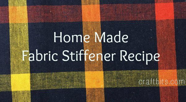 25 Best Ideas About Fabric Stiffener On Pinterest Fruit