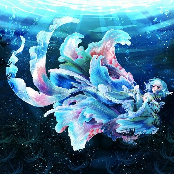 25+ Best Ideas About Anime Mermaid On Pinterest