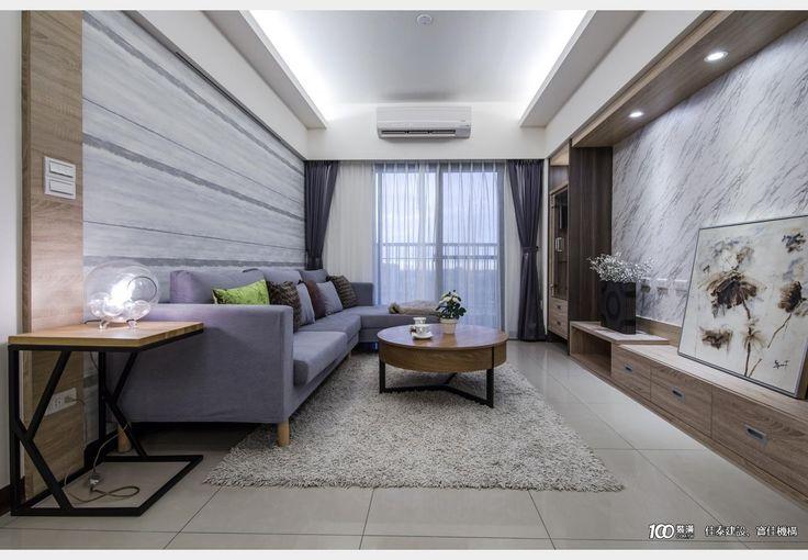 佳泰智匯城_現代風設計個案—100裝潢網