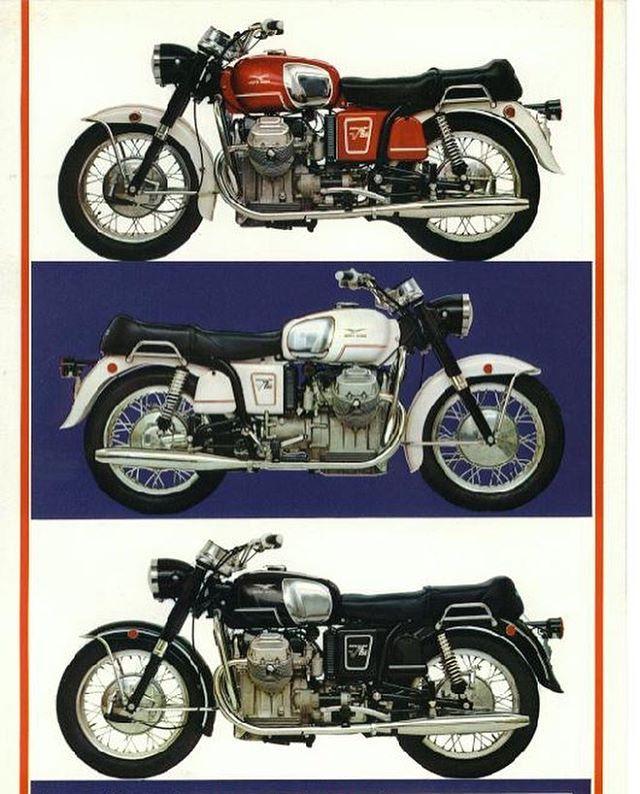 Choose your colour. Moto Guzzi V7 Ambassador, for Usa export market #motoguzzi #guzzi #motoguzziv7 #motoguzziv7ambassador #classicmotorcycle #vintage #italianmotorcycle